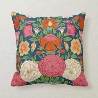 Bohoのヴィンテージの花柄の枕 クッション
