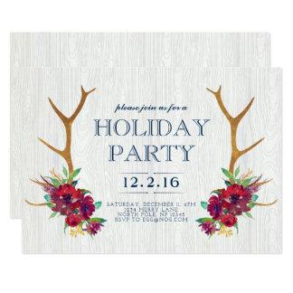 Bohoの休日のパーティの招待状 カード