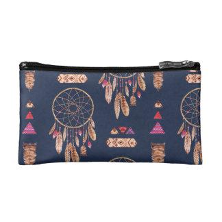 Bohoの夢のキャッチャーパターン コスメティックバッグ