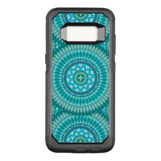 Bohoの曼荼羅の抽象芸術パターンデザイン オッターボックスコミューターSamsung Galaxy S8 ケース
