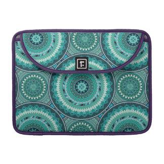 Bohoの曼荼羅の抽象芸術パターンデザイン MacBook Proスリーブ