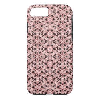 Bohoの珊瑚の万華鏡のように千変万化するパターンのiPhone 7の場合 iPhone 8/7ケース