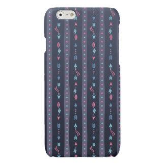 Bohoの粋な濃紺の矢 光沢iPhone 6ケース