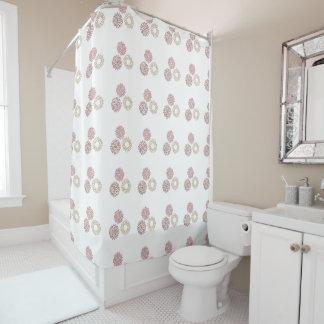 Bohoの花のシャワー・カーテン シャワーカーテン