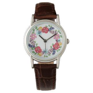 Bohoの花のリース|の腕時計 腕時計