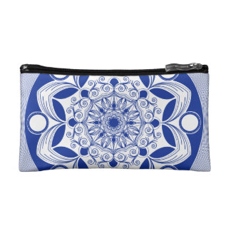 Bohoの華美な曼荼羅 コスメティックバッグ