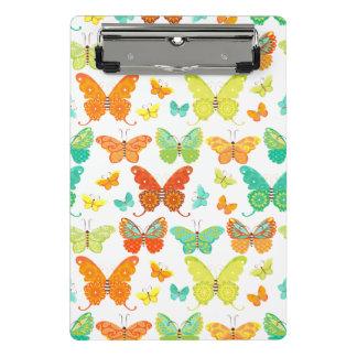 Bohoの蝶小型クリップボード ミニクリップボード