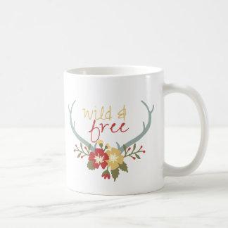 Bohoの野生および自由なマグ コーヒーマグカップ
