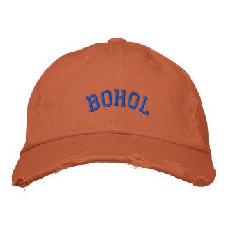 Boholフィリピンの野球帽 刺繍入りキャップ