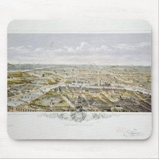 Bois deブローニュからのパリの眺め マウスパッド