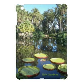 Bokタワーの庭フロリダ-スイレン iPad Miniケース