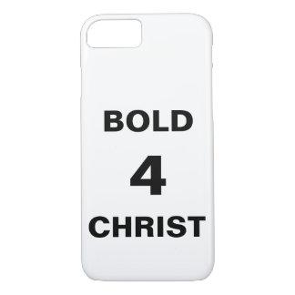 """""""Bold4Christ""""のApple iPhone 8/7の場合 iPhone 8/7ケース"""