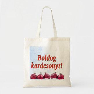 Boldogのkarácsonyt! ハンガリーrfのメリークリスマス トートバッグ