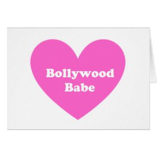 Bollywoodの女の子 カード