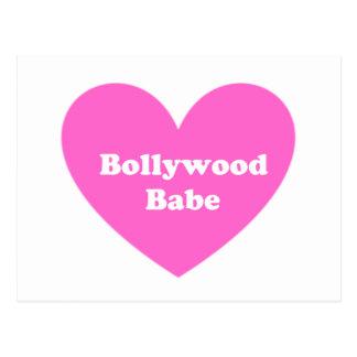 Bollywoodの女の子 ポストカード