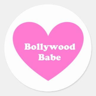 Bollywoodの女の子 ラウンドシール