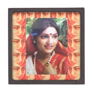 Bollywoodの花型女性歌手の女優のインドの美しいの映画館の女の子 ギフトボックス