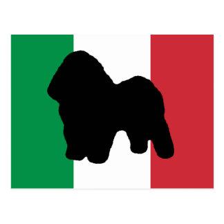 bologneseサイロの旗Italy.png ポストカード