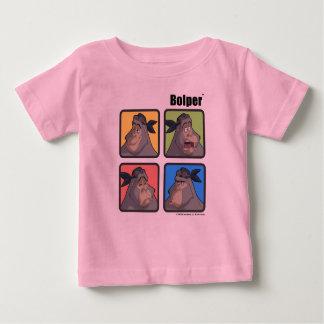 BOLPERの表現の乳児のTシャツ ベビーTシャツ
