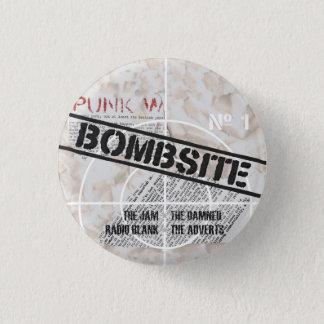 Bombsite Fanzine 1つのカバー 3.2cm 丸型バッジ