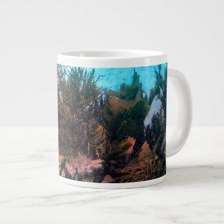 Bonairean礁 ジャンボコーヒーマグカップ