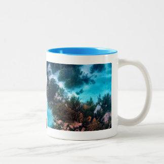 Bonairean礁 ツートーンマグカップ