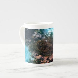 Bonairean礁 ボーンチャイナカップ