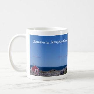Bonavista、ニューファウンドランド コーヒーマグカップ