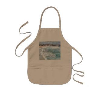 Bondiのビーチの波 子供用エプロン