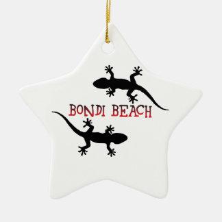 Bondiのビーチオーストラリア セラミックオーナメント