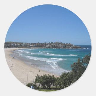 Bondiのビーチシドニーオーストラリア ラウンドシール