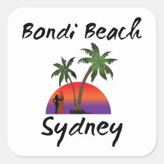 bondiのビーチシドニー スクエアシール