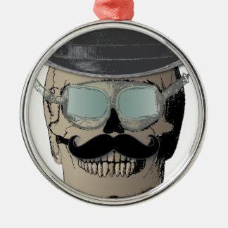 Bones Steam Punk Time氏の旅行者 メタルオーナメント