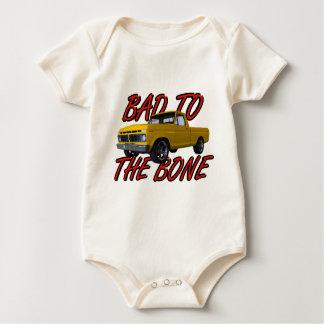 BoneTheの世界への悪い状態はずっと速いカリフォルニアを常に愛しています ベビーボディスーツ