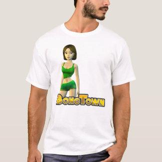 BoneTownのトレーニングの女の子 Tシャツ