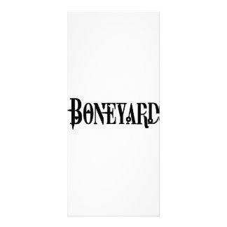 Boneyard -ロゴ ラックカード