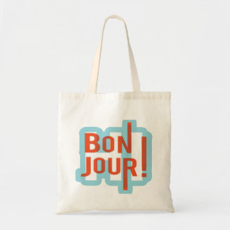 Bonjourの予算のトートバック トートバッグ