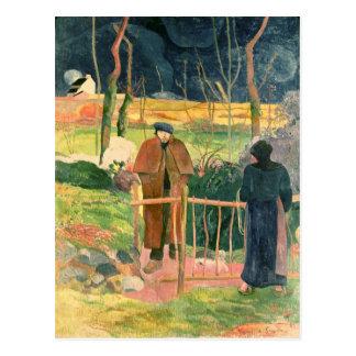 BonjourのGauguin 1889年氏 ポストカード