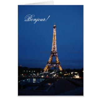 Bonjour! カード