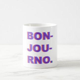 BONJOURNOのマグ コーヒーマグカップ