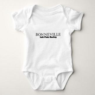 Bonnevilleの塩の平たい箱の競争 ベビーボディスーツ