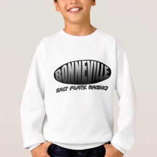 Bonnevilleの塩の平たい箱の速度の競争 スウェットシャツ