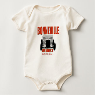 bonnevilleの塩の平地競走 ベビーボディスーツ