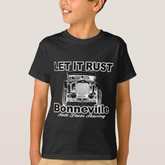 Bonnevilleの塩の平地競走 Tシャツ