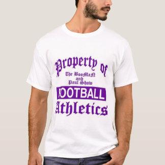 BooMaNおよびポールショーの運動競技 Tシャツ