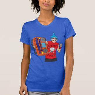 Boomboxのパンクロックミュージシャン Tシャツ