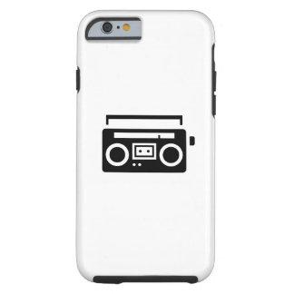 BoomboxのピクトグラムのiPhone6ケース ケース