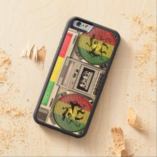 boomboxのレゲエ CarvedメープルiPhone 6バンパーケース