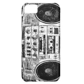 Boomboxの落書き iPhone5Cケース