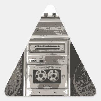 Boombox 三角形シール